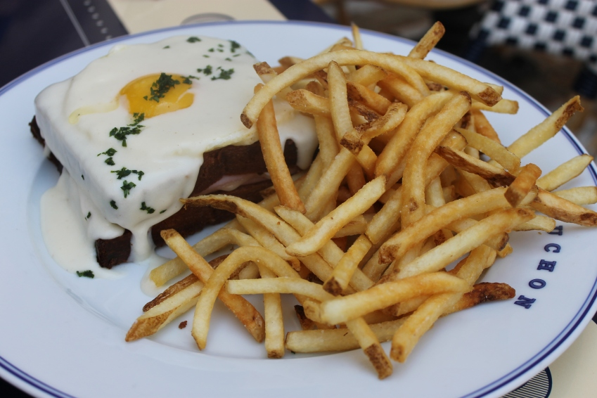 Croque Madame, Bouchon at the Venetian, Las Vegas, Nevada