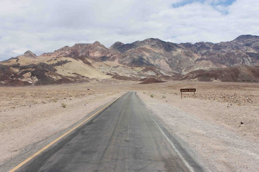 Artist's Drive, Death Valley National Park, California