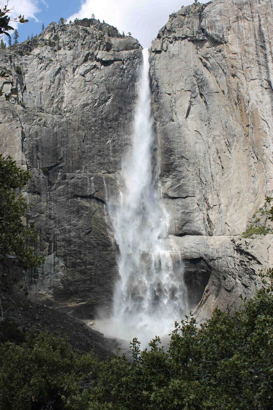 Upper Yosemite Falls, Yosemite National Park, California