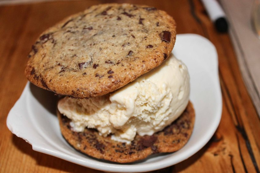 Ice cream sandwich from The Meatball Shop