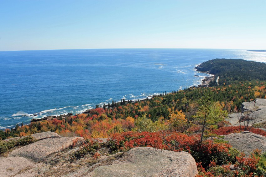 View from Gorham Mountain Trail