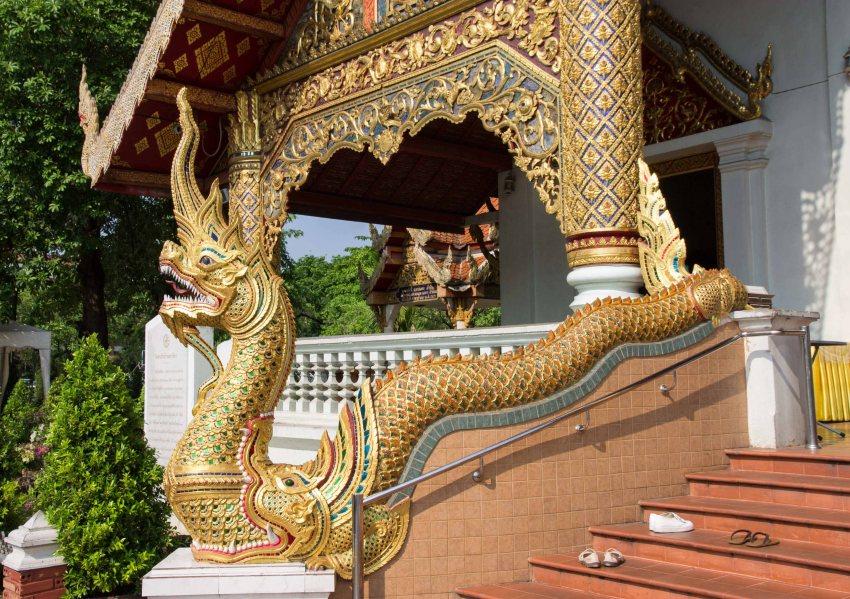 Lions at Wat Phra Singh