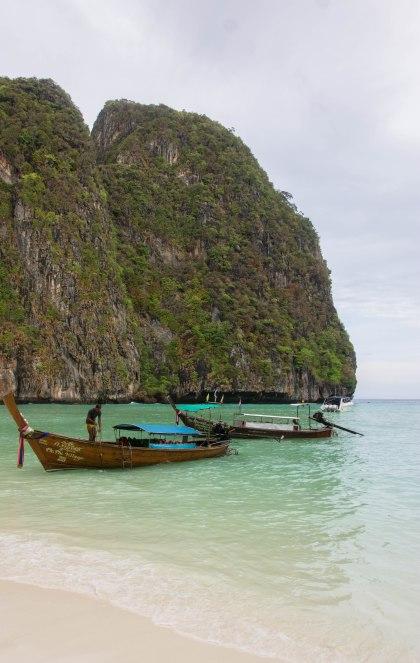 Longtails at Maya Bay