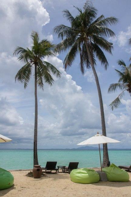 Beach area at Phi Phi Island Village Beach Resort