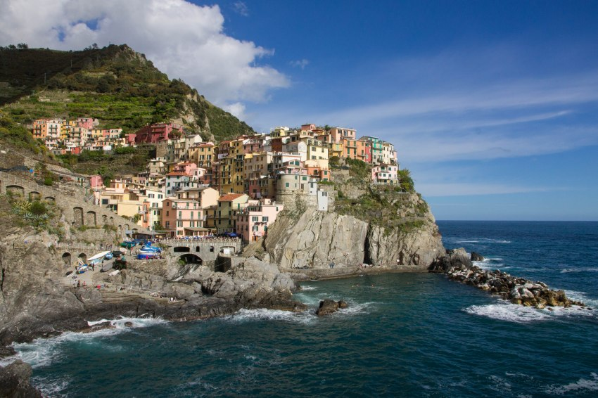 Manarola view by day